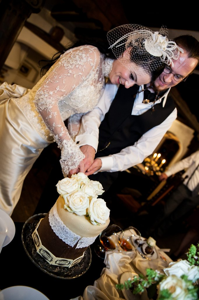 Wedding Photography - The Cake